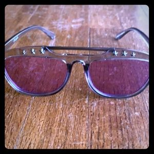 Free people purple sunglasses. Super unique